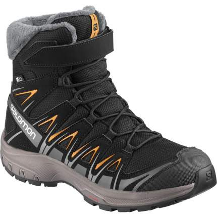 Ботинки Salomon Xa Pro 3D Winter Ts Cswp J Black/Magnet/Tangelo, р. 32