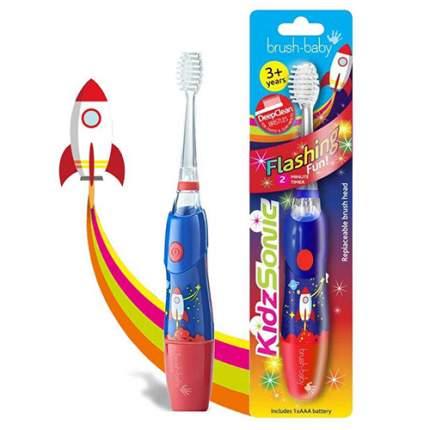 Детская звуковая зубная щетка Brush-Baby KidzSonic Ракета