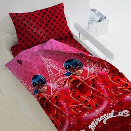 Комплект постельного белья Тейковский ХБК из бязи LadyBug Леди Баг 1,5-спальное