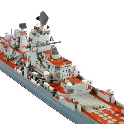 Модель для сборки Zvezda крейсер Петр Великий с подарочным набором