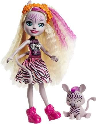 Кукла Enchantimals Zadie Zebra с питомцем GTM27
