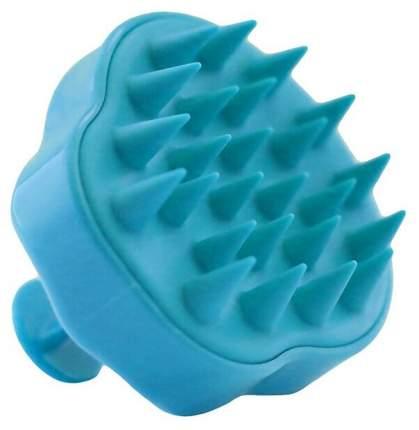 Массажер для мытья головы анатомической формы (голубой)