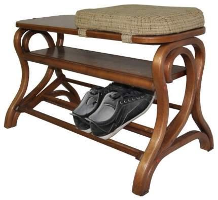 Подставка для обуви Мебелик Диана Средне-коричневый