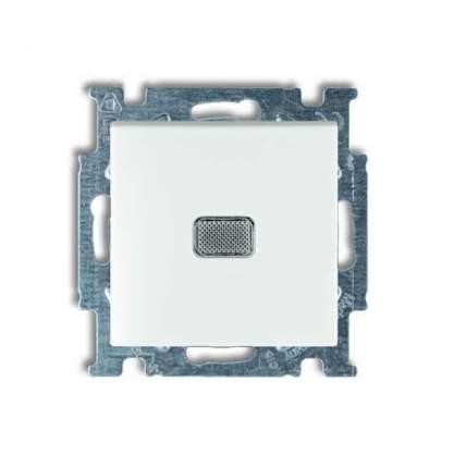 Выключатель 1кл с подсветкой белый Basic 55 ABB2006/1 UCGL-94-507