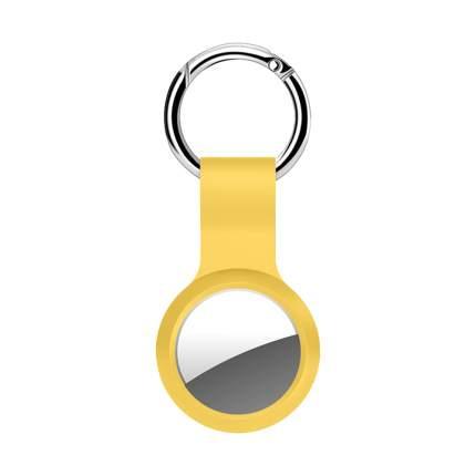 Брелок Deppa для AirTag с кольцом силикон, Yellow