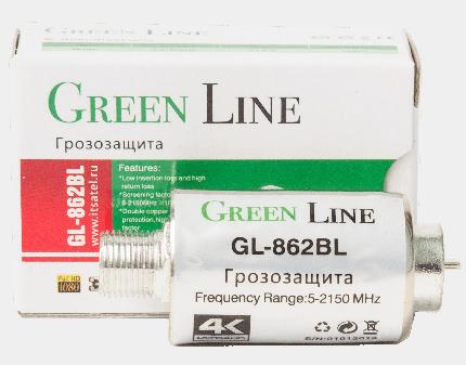 Грозозащита для антенн Green Line GL-862BL 1шт.