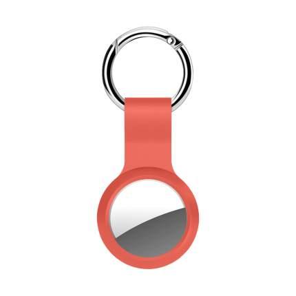Брелок Deppa для AirTag с кольцом силикон, Orange