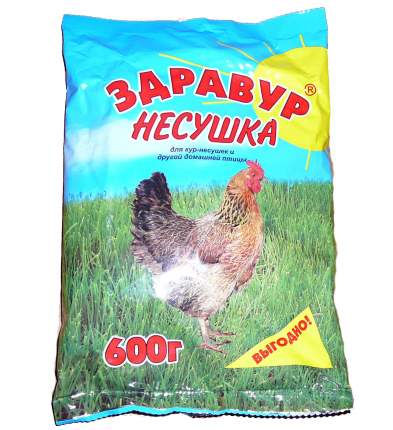 Кормовая добавка для кур Здравур Несушка 0,6 кг