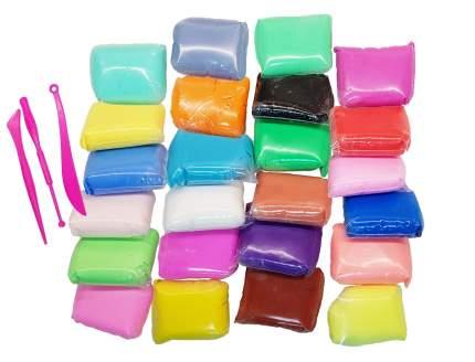 Воздушный пластилин Star 24 цвета