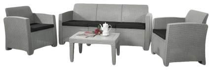 Набор садовой мебели Idea Life 5 light gray; dark gray 4 предмета