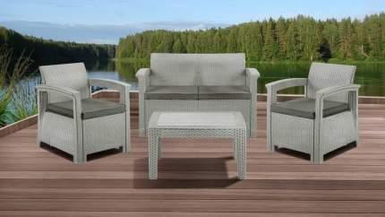 Набор садовой мебели Idea Soft 4 light gray; light beige 4 предмета