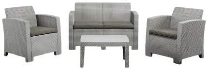 Набор садовой мебели Idea Life 4 light gray; dark gray 4 предмета