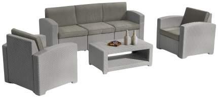 Набор садовой мебели Idea Lux 5 light gray; dark gray 4 предмета