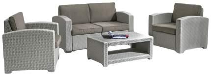 Набор садовой мебели Idea Lux 4 light gray; dark gray 4 предмета