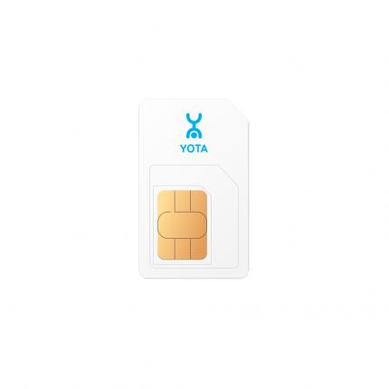 SIM-карта для модемов и ноутбуков yota 1604