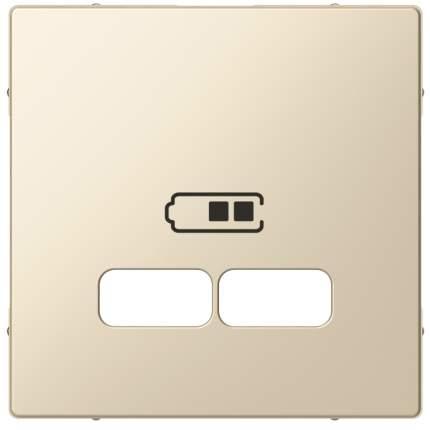 Накладка центральная SE Merten SM Беж для USB механизма 2,1А