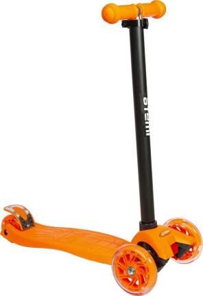 Самокат детский Atemi Super Rider колеса ( 118/80 мм), AKC02A, светодиоды перед,ОРАНЖЕВЫЙ