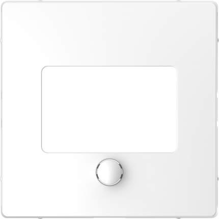 Накладка центральная SE Merten D-Life Белый Лотос для сенсорного термостата