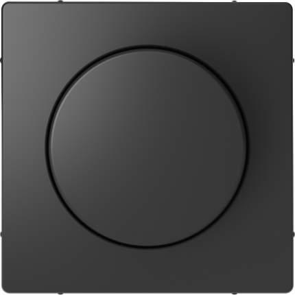 Накладка центральная SE Merten D-Life Антрацит с поворотной рукояткой для диммера