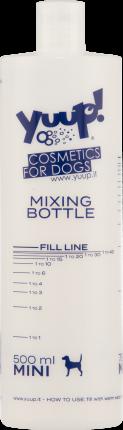 Мерная бутылка Yuup пластик, универсальная, 500мл
