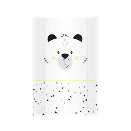 Пеленальная доска ALBEROMIO Забавный Мишка Белый