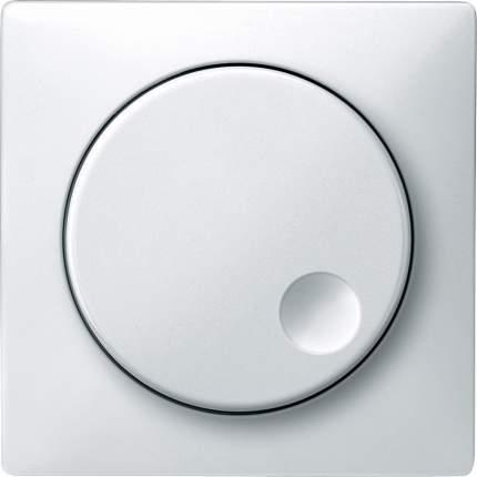 Накладка светорегулятора поворотного SE Merten SD Бел (термопласт)
