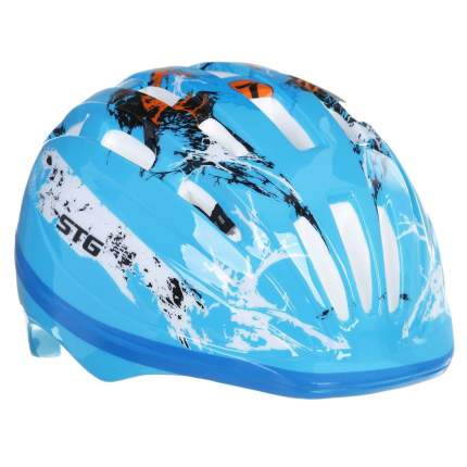 Велосипедный шлем STG HB6-2-A, синий, XS