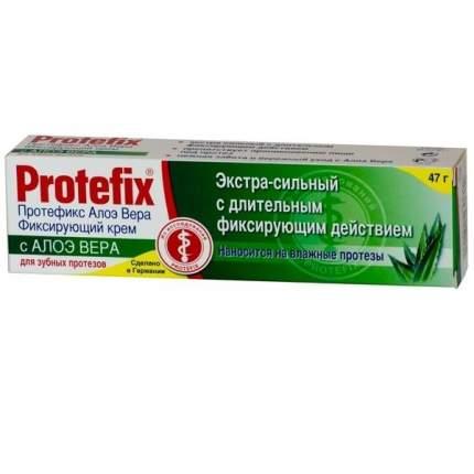 Крем для фиксации зубных протезов Протефикс экстрасильный алоэ 40мл
