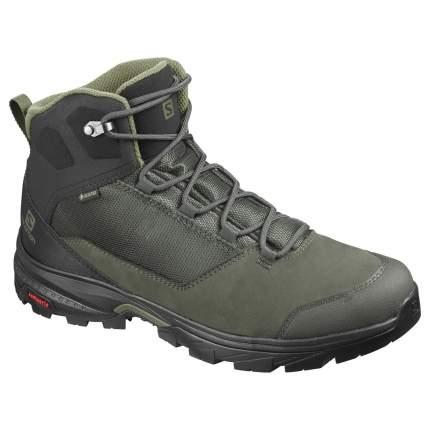 Ботинки Salomon OUTward GTX Peat/Black/Burnt Olive, Peat/Bk/Burnt Oliv