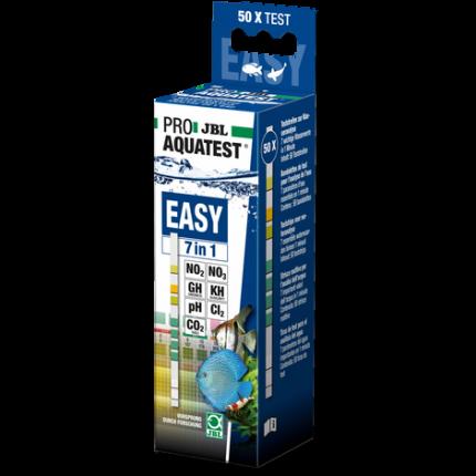 Тест-полоски JBL ProAquaTest Easy 7in1 по 7 основным параметрам воды, полоски, 50 шт.
