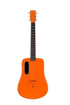 Гитара трансакустическая Lava Me-2 Freeboost Or со звукоснимателем и процессором эффектов