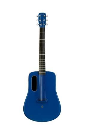 Гитара трансакустическая Lava Me-2 Freeboost Bl со звукоснимателем и процессором эффектов