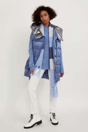 Утепленный жилет женский Finn Flare A20-13000 голубой L