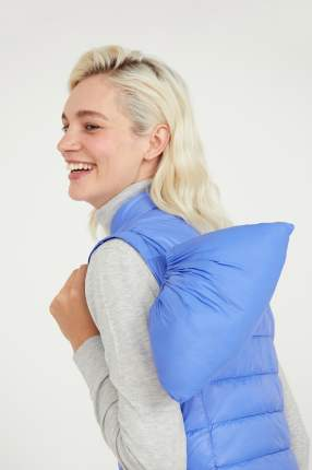 Утепленный жилет женский Finn Flare A20-32057 синий L