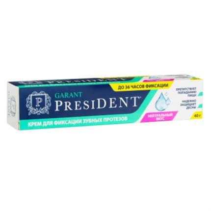 Крем д\фиксации зубных протезов Бетафарма нейтральный вкус 40г