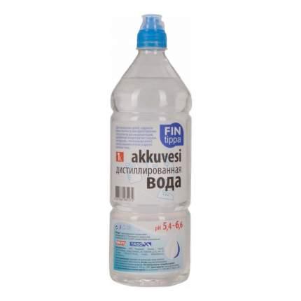 Дистиллированная вода Fin tippa 1 л