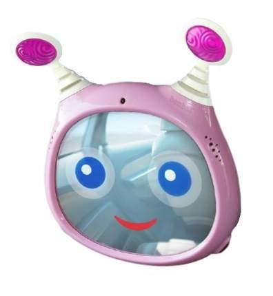 Зеркало для контроля за ребенком Benbat oly active, розовый