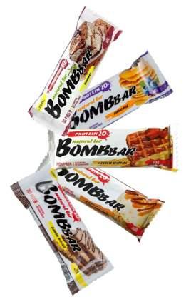 Bombbar Ассорти Ореховое (фисташка, арахис, кокос, грецкий, миндаль), 5шт x 60г