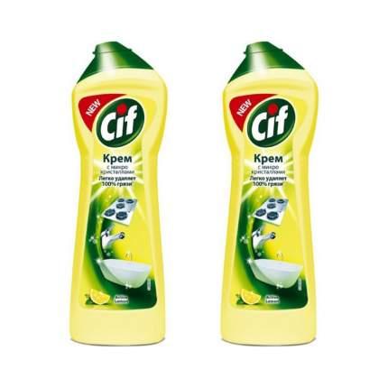 Универсальный крем Cif Active Lemon (2 шт (0.5 л)) CALUC-0.5/2