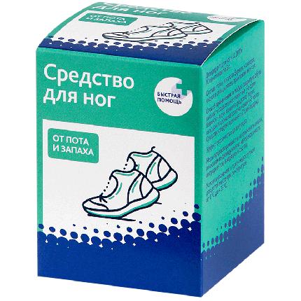 Средство для ног от пота и запаха Эльфарма [Россия] 3г №10