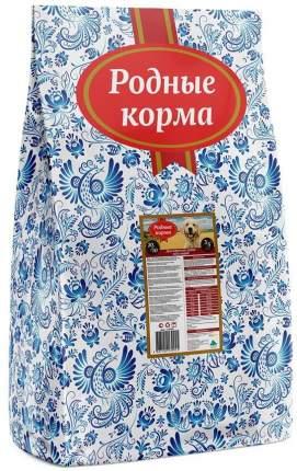 Сухой корм для собак Родные корма 20/10 , курица, 10кг
