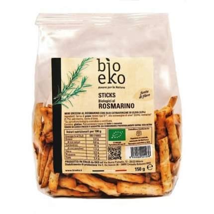 Хлебные палочки мини с розмарином био eko s.r l 3 пачки по 150 граммов