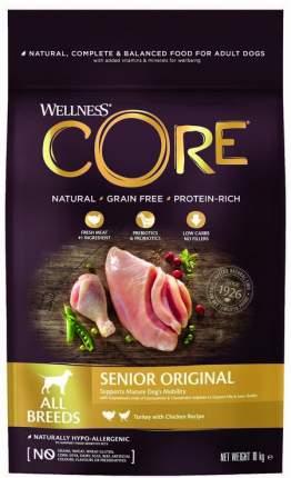Сухой корм для собак Wellness CORE Senior , индейка, курица,  10кг