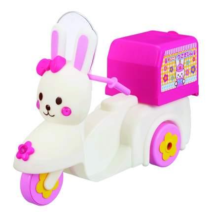 Мотороллер Kawaii Mell с багажником Кролик