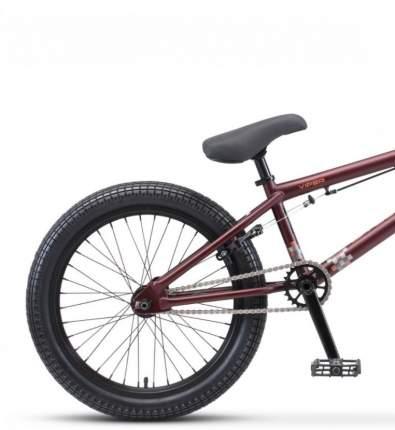"""Велосипед Stels Viper 20 V010 2021 21"""" темно-красный/коричневый"""