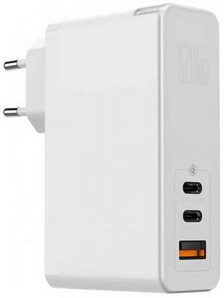 Сетевое зарядное устройство Baseus GaN Mini Quick Charger, 1xUSB, 5 A, (CCGAN-J02) white