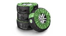 Чехлы для колес Skoda (4 шт в комплекте) VAG 000073900b