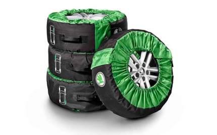 Чехлы для колес Skoda, комплект 4шт VAG 000073900g