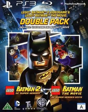 Игра LEGO Batman 2 DC Super Heroes + Lego Batman The Move Double Pack для PlayStation 3