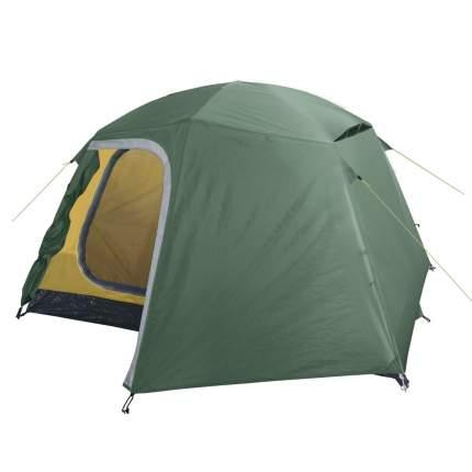 Палатка кемпинговая BTrace Point 3 трехместная зеленая